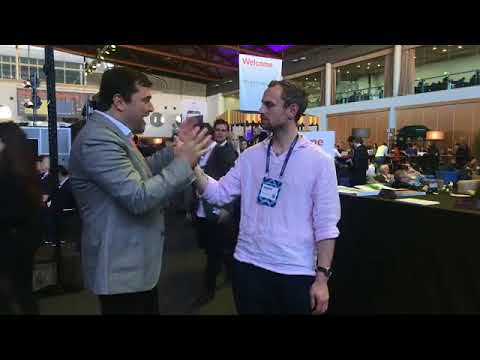 Live Interview at the Websummit 2017 in Lisbon