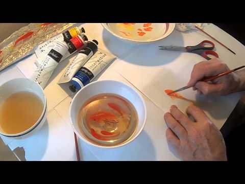 Goldfish 3D Painting in Resins ( LAYERS EXPLAINED )