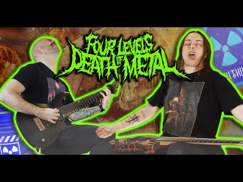 We Got RADIATION POISONING | 4 Levels Of Death Metal | Claire & Dean Learn: S2E4