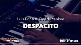 Luis Fonsi - Despacito ft. Daddy Yankee - Piano karaoke / Lyrics / Instrumental