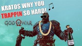 """HILARIOUS """"GOD OF WAR 4"""" PS4 GAMEPLAY #14"""