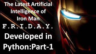 Python Yapay Zeka oluşturma : Bölüm-1 || Demir Adam Cuma.