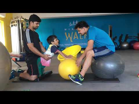 Pediatric Physiotheraphy and Rehabilitation at Mission Walk Neurological Reengineering center HYD