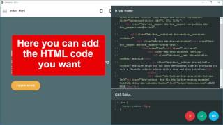 Code Editor - Mobirise HTML Page Builder v2.5
