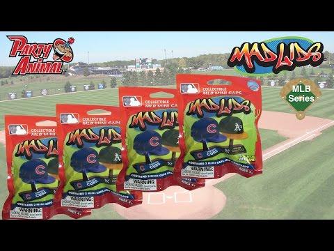 Mad Lids Major League Baseball Miniature Hat Blind Bags