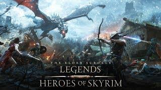 Trailer de The Elder Scrolls: Legends –Heróis de Skyrim