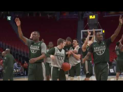 Michigan State 2018 NCAA Open Practice (3/15/18)