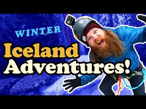 ICELAND - Top 5 Winter Adventures
