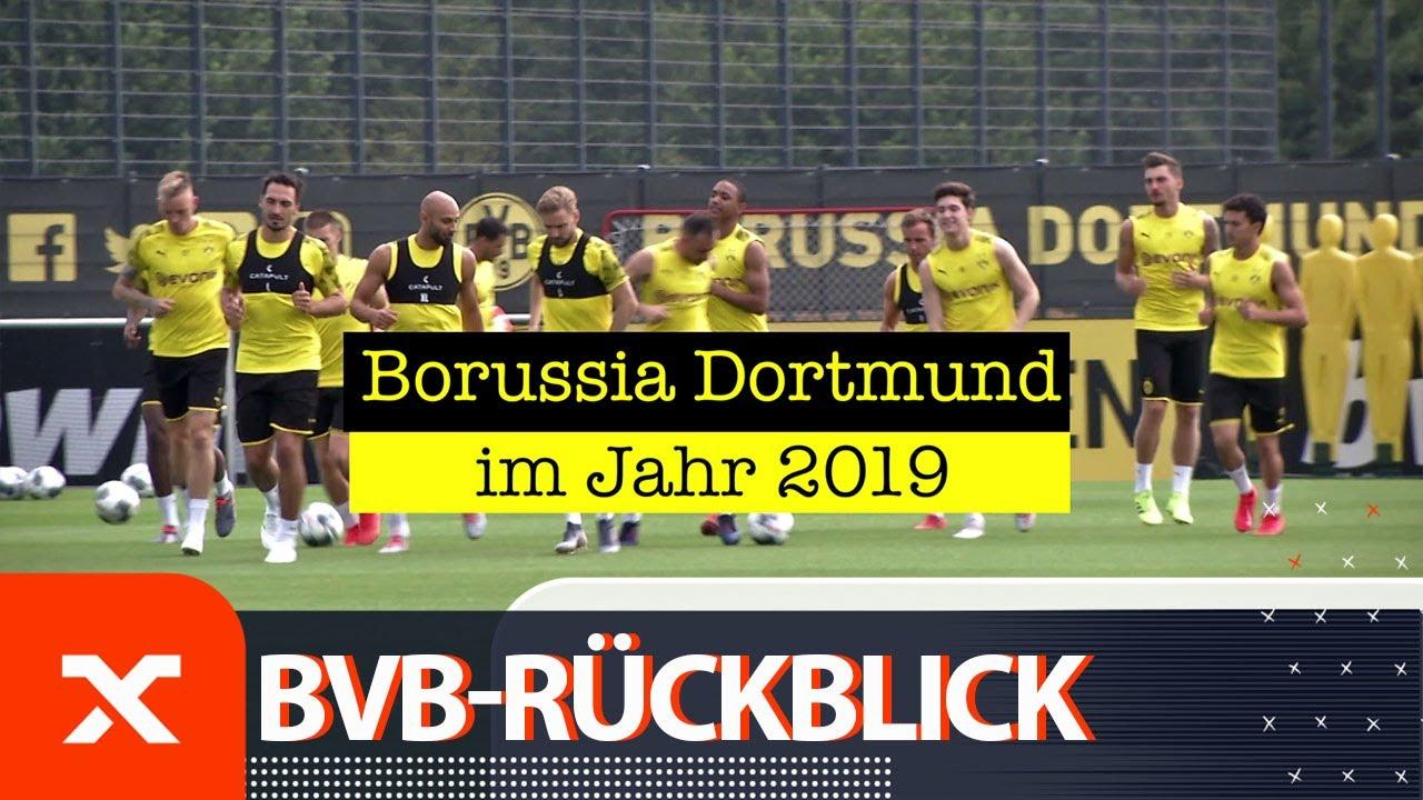 Supercup-Sieg, Derby-Pleite, Schicksalspiele für Trainer Favre | Borussia Dortmund im Jahr 2019