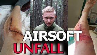 Airsoft Unfall / Schwer verletzt / Erste Hilfe leisten - GsP Airsoft GERMAN