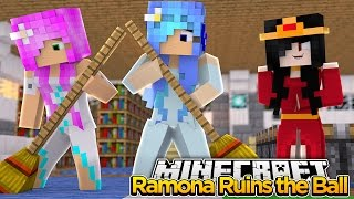 Minecraft Royal Family : RAMONA RUINS THE NEW YEARS EVE BALL! w/LittleKelly&LittleCarly (Roleplay)