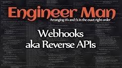 Webhooks aka Reverse APIs