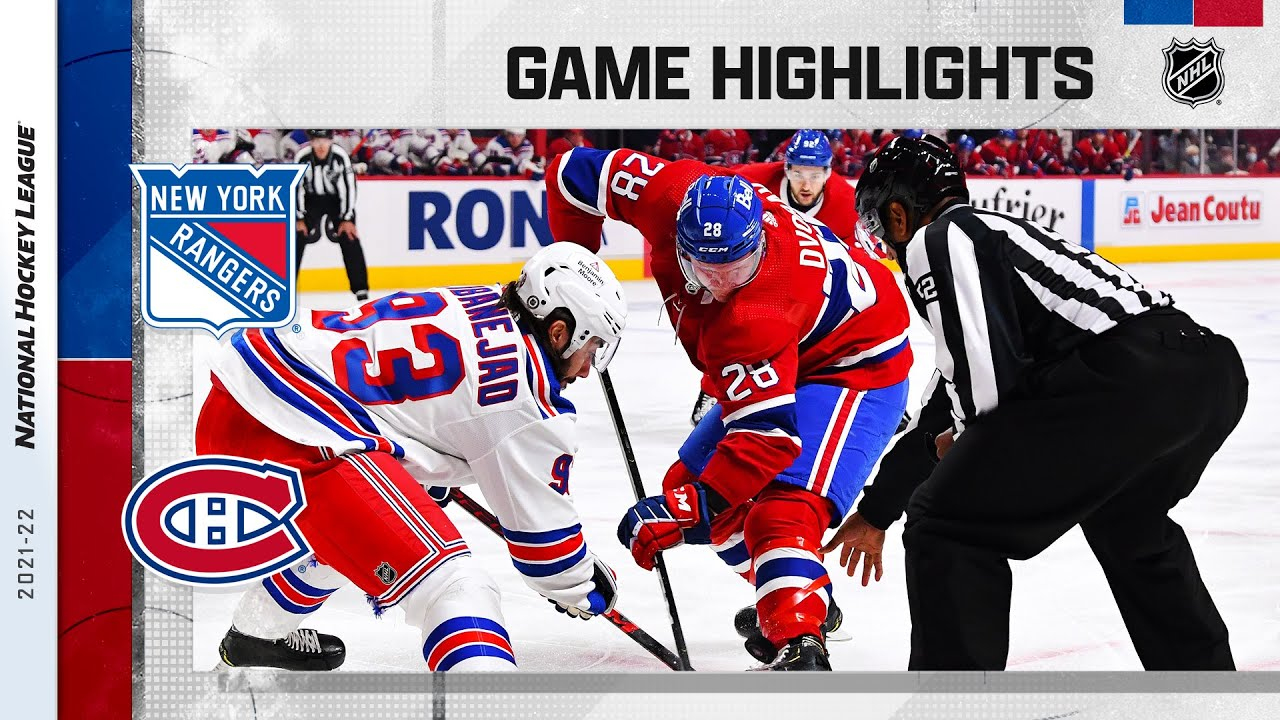 Download Rangers @ Canadiens 10/16/2021 | NHL Highlights