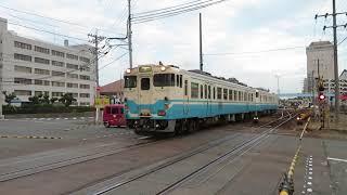 鳴門線キハ47形・40形 徳島~佐古 JR Shikoku Naruto Line KiHa47 and KiHa40 series DMU