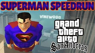 GTA San Andreas - SUPERMAN SPEEDRUN - Any%