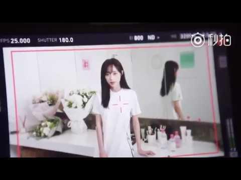 180925 SNH48 Huang Tingting - Making film of Bioderma CF