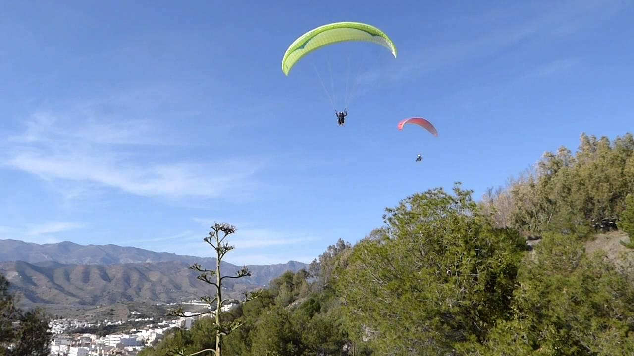 Tandem Paragliding Spain - Soar Up In The Spanish Sky