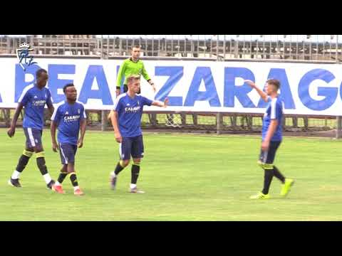 Resumen I Real Zaragoza 3 - 0 Deportivo Aragón I 25/7/2019