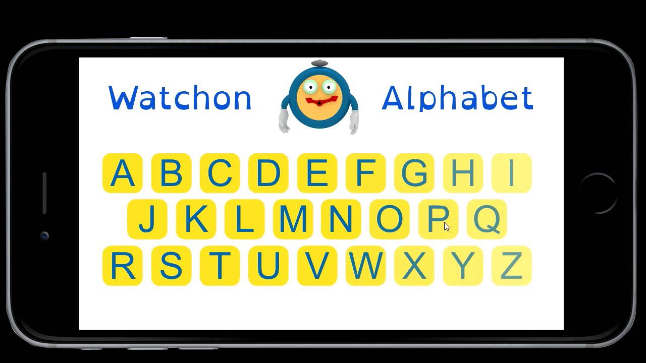 Watchon Alphabet App Youtube