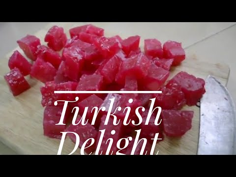 Authentic Turkish Delight Recipe I Lokum Recipe from Chronicles of Narnia