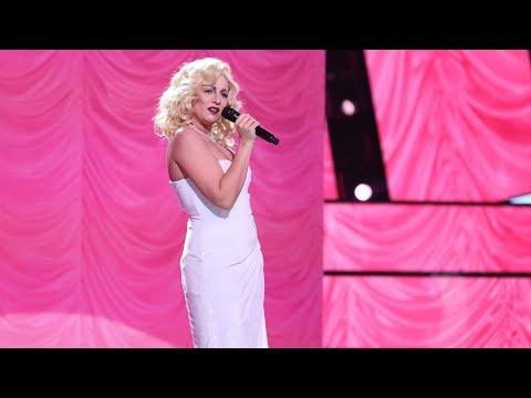 Lucía Jiménez imita a Madonna - Tu Cara Me Suena
