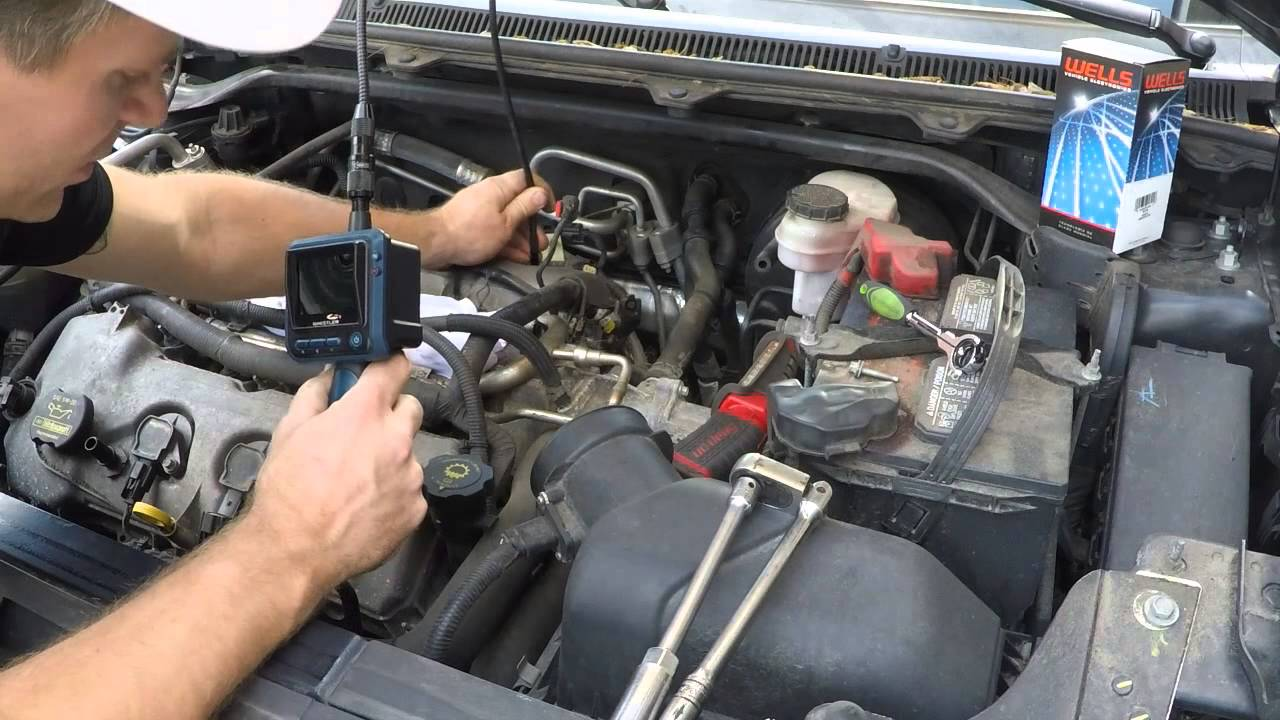 O2 Sensor Wiring Diagram Motor Starter Hand Off Auto Ford Flex 3.5 Tune Up, How To Replace Spark Plugs And Coils - Youtube