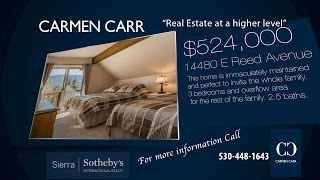 Carmen Carr Real Estate- New Listing - Donner Lake