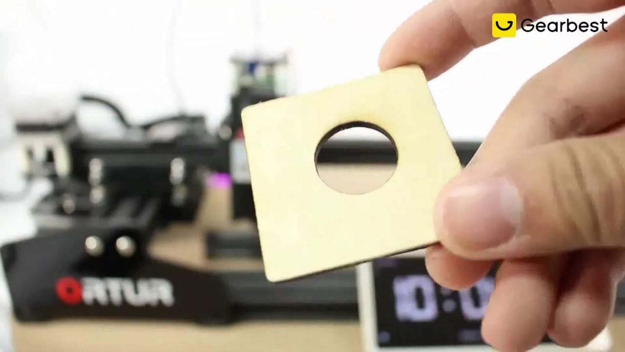 Ortur Laser - Cortadora e Impresora laser con 15w De potencia