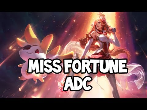 PENTA KILL?! STAR GUARDIAN MISS FORTUNE ADC GAMEPLAY - League of Legends