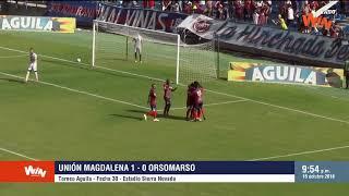 Unión Magdalena vs. Orsomarso (1-0) | Torneo Aguila | Fecha 30