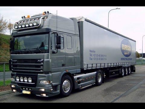 🎥 Видео Клип  (обзор) Седельный тягач DAF XF95.530