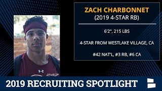 Zach Charbonnet: 2019 Michigan Football Recruiting Profile On The 4-Star Running Back