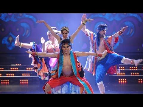 Puntaje perfecto para Gisela Bernal con su baile al estilo de Bollywood