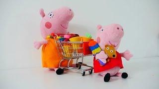 Spielspaß mit Peppa Wutz  - Wir gehen Einkaufen