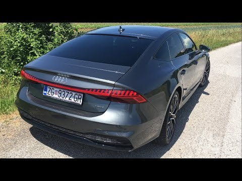 2018 NEW AUDI A7 review | Interior tour, LED lights animation, acceleration & driving