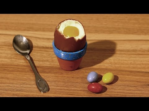 Chocolate Easter Egg Stop Motion Recipe