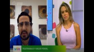 Teletrabajo y Salud Visual