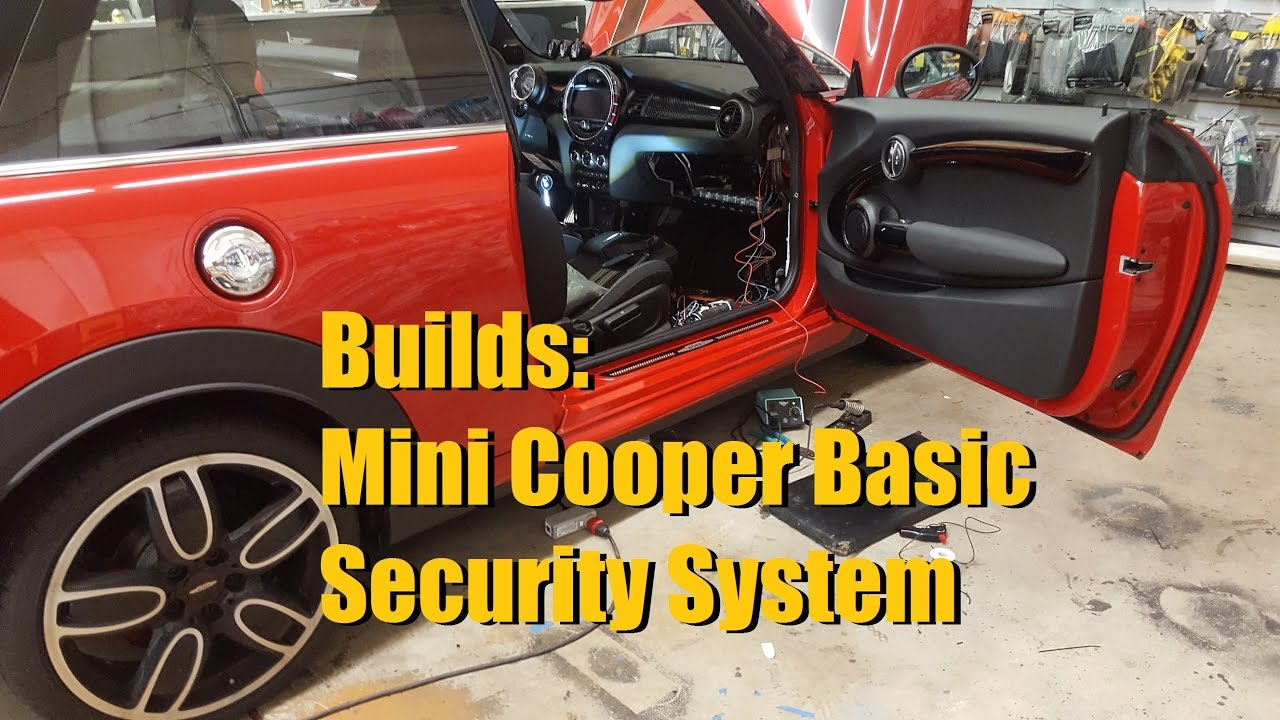 Builds: Mini Cooper security system (Viper 3606 DBALL2) | AnthonyJ350