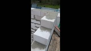 Строительство дешёвого дома,  оконные перемычки