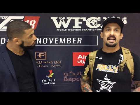 Luan Santiago Brave CF 18 Post Fight Interview