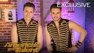 The duo recap what happened on stage and that they were excited to receive four yeses.» get america's got talent app: http://bit.ly/agtappdownload» subsc...