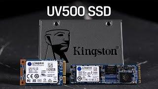 "2.5"", M.2 and mSATA Form Factor Encrypted SSDs - Kingston UV500"