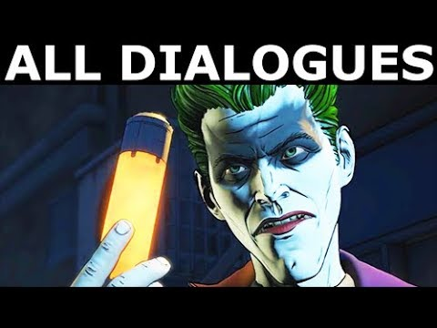Joker Gives Bruce The Virus - All Dialogues - BATMAN Season 2 The