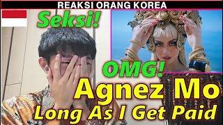 Reaksi Orang Korea Mendengar Agnez Mo - Long As I Get Paid