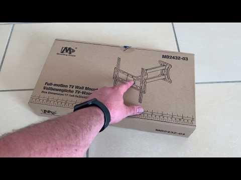 mounting-dream-tv-wandhalterung-schwenkbar-neigbar-66cm-140cm-(26-55-zoll)-unboxing-und-anleitung