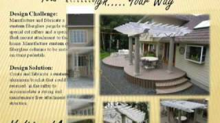 Fiberglass Pergolas For The Landscape Designer/specifier