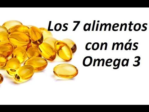 Los 7 alimentos con m s omega 3 youtube - Alimentos con levadura de cerveza ...