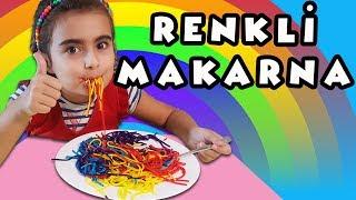 Mira ile Yenilebilir Renkli Makarna Partisi | Eğlenceli Çocuk Videosu | Umikids