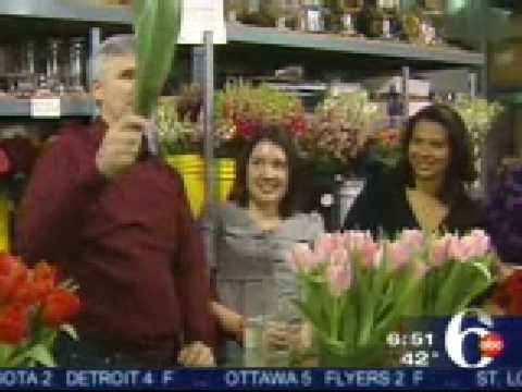 Robertson's Flowers Hosts 6ABC News