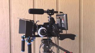 budget video rig featuring sony slt a58